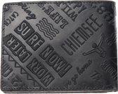 Chiemsee - Wild Ride - trifold wallet - black