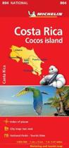 Costa Rica National Map 804