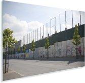 Belfast wall bekend als The Peace Lines Plexiglas 90x60 cm - Foto print op Glas (Plexiglas wanddecoratie)