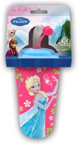 Disney Frozen-Cup-with-straw-fuchsia - Maat One-size