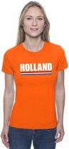 Oranje Holland supporter shirt dames XL