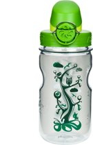 Nalgene On The Fly Kids Bottle - Drinkfles - 0.35 liter - BPA free - Transparant/Groen