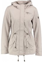 Only zomerjas katoen polyester feather gray - Maat XS