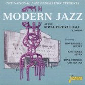 Modern Jazz At The Royal Festival Hall