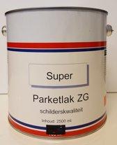 Parketlak - Transparant - Blank - Zijdeglans - 2,5L