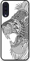 Galaxy A30s Hardcase hoesje Leeuw Mandala