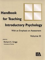 Handbook for Teaching Introductory Psychology