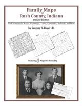 Family Maps of Rush County, Indiana