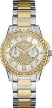 GUESS Watches -  W0705L4 -  horloge -  Vrouwen -  RVS - Bicolour -  36  mm