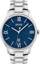 Hugo Boss HB1513487 Governor Horloge - Staal - Zilverkleurig - Ø44 mm