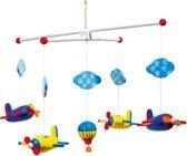 Houten mobiel - Vliegtuigjes - Mobiel voor baby's - Geen muziekmobiel - Eenvoudig te monteren!