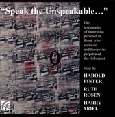 Speak The Unspeakable