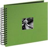 Hama Fine Art spiraal groen 28x24 50 zwarte pagina's 94875