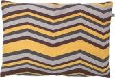 Kussenhoes Fien 40x60 cm zand multi