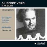 Verdi: Macbeth (Frankfurt 1947 - Sung In German)