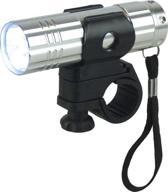 Dyto - Koplamp - Zaklamp - 9 LED - Batterij - Grijs