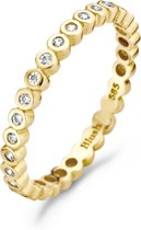 Blush Ring 1120YZI -  Geel Goud (14Krt.) met Zirconia