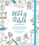 Colour hardback, NIV journaling bible