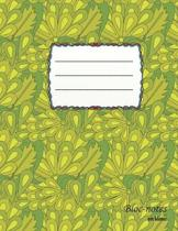Bloc-notes en blanc: Floraldesign - format A4 - 112 pages - carnet de notes avec registre - id�al comme agenda, carnet de croquis, carnet d