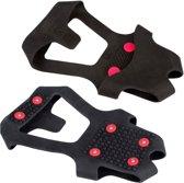 Anti-slip Zool • Grip Studs •, Zwart/Rood, 45-47