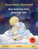 Sefa prentenboeken in twee talen - Slaap lekker, kleine wolf – Que duermas bien, pequeño lobo (Nederlands – Spaans). Tweetalig kinderboek, vanaf 2-4 jaar, met luisterboek als mp3-download