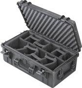 Gaffergear camera koffer 052 zwart   - Met klittenband vakverdeling    -  36,10   x 22,50  x 22,50  cm (BxDxH)