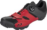 Giro Cylinder Schoenen Heren, dark red/black Schoenmaat EU 41