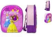 Princess 3D rugzak meisjes / meisje - Rugtas Disney Prinses - boekentas - schooltas - Afmetingen 25 x 10 x 33 cm