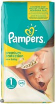 Pampers New Baby - Maat 1 Mid Pack 45 luiers