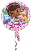 Doc McStuffins folie ballon 43cm Happy Birthday