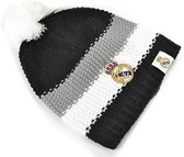 Real Madrid - Muts Pompon - Volwassenen - Zwart/Gijs/Wit