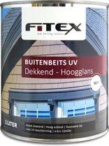 Fitex Buitenbeits UV - Hoogglans - Wit - 1 liter