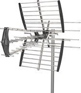 Outdoor TV Antenna | Max. 14 dB Gain | VHF: 170 - 230 MHz | UHF: 470 - 790 MHz