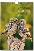 Weekkalender 2020 spiraal nederland natuurland