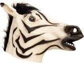 Dierenmasker zebra van latex