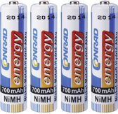 Conrad 250400 household battery Rechargeable battery Nikkel-Metaalhydride (NiMH)