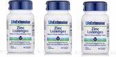 Zinc Lozenges, 60 Vegetarian Lozenges, 3-pack