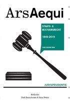 Ars Aequi Jurisprudentie - Jurisprudentie Staats- en bestuursrecht 1849-2019
