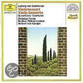 Beethoven: Violin Concerto, Overtures / Karajan