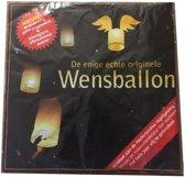 Witte wensballon groot A kwaliteit