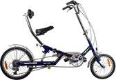 E-fun Zit-vouwfiets - Fiets - Unisex - Blauw - 16 Inch