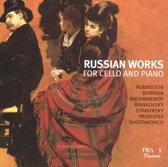 Russian Works For Cello&Piano