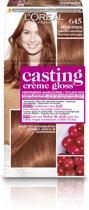L'Oréal Paris Casting Crème Gloss Haarverf - 645 Donker koper mahonieblond