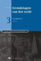Boom Juridische studieboeken - Grondslagen van het recht 3