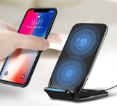 Fast wireless charging stand - draadloze oplader + USB Type c kabel