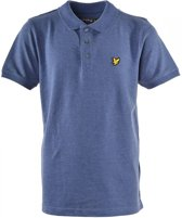 Lyle and Scott Jongens t-shirts & polos Lyle and Scott Classic polo shirt blauw 164