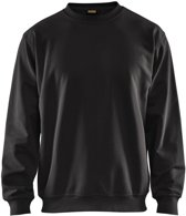 Blåkläder 3340-1158 Sweatshirt Zwart maat XS