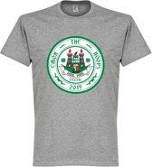 C'mon The Hoops Celtic Logo T-Shirt - Grijs - XXL
