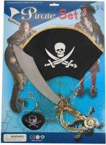 Piratenset op kaart 4 delig