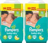 Pampers Luiers Baby Dry Maat-4 Maxi 8-16kg Voordeelverpakking 240-luiers